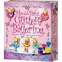 Mould & Paint Glitter Ballerina Kit