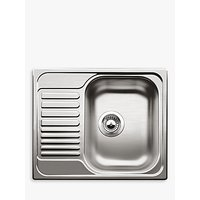 Blanco Tipo 45 S Single Inset Mini Sink, Stainless Steel