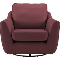 G Plan Vintage The Sixty Seven Leather Swivel Chair