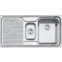 Blanco Classic 6S 1.5 Inset Kitchen Sink, Stainless Steel