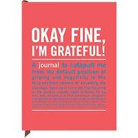 Knock Knock Okay Fine Journal