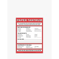 Knock Knock Paper Tantrum Nifty Notes