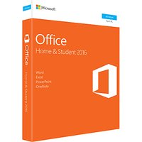 Microsoft Office Home and Student 2016, 1 PC, One-Off Payment