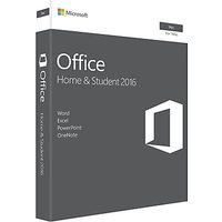 Microsoft Office Home and Student 2016, 1 Mac, One-Off Payment