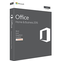 Microsoft Office Home and Business 2016, 1 Mac, One-Off Payment