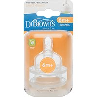 Dr Brown's Options Level 3 Teats, Pack of 2