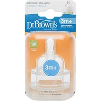 Dr Brown's Level 2 Teat, Pack of 2