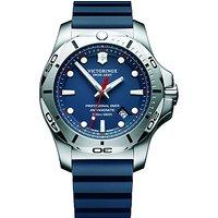 Victorinox 241734 Mens I.N.O.X Diver Rubber Strap Watch, Blue