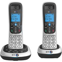BT 2700 Digital Cordless Phone with Answering Machine, Twin DECT
