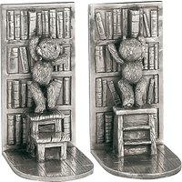 Royal Selangor Teddy Bears Picnic Bookends, Silver