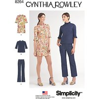 Simplicity Womens Vintage Dress Sewing Pattern, 8264