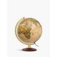 Nova Rico Ocra Illuminated Globe, 25cm
