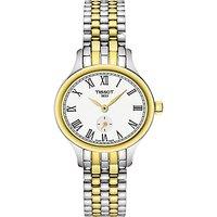 Tissot T1031102203300 Women's Bella Ora Piccola Two Tone Bracelet Strap Watch, Silver/Gold