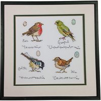 Bothy Threads Garden Bird Counted Cross Stitch Kit