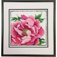 Bothy Threads Peony Counted Cross Stitch Kit