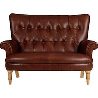 John Lewis Hambleton Leather Snuggler, Light Legs