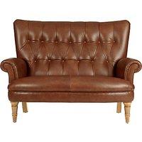 John Lewis Hambleton Leather Snuggler, Light Legs