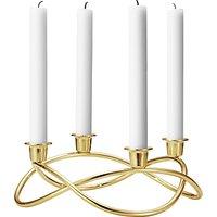 Georg Jensen Season Gold Plated Candlestick Holder