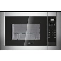 Neff H12GE60N0G Built-In Microwave, Stainless Steel