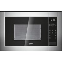 Neff H11WE60N0G Built-In Microwave Oven, Stainless Steel
