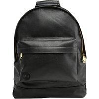 Mi-Pac Gold Tumbled Backpack, Black