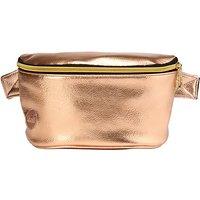 Mi-Pac Gold Metallic Bumbag, Rose Gold