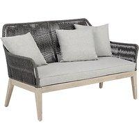 John Lewis Leia 2 Seater Sofa, FSC-Certified (Eucalyptus Grandis), Grey