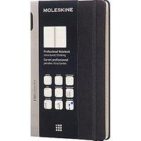 Moleskine Hardcover Professional Notebook Large, Black