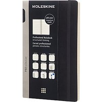 Moleskine Soft Professional Notebook, Large, Black