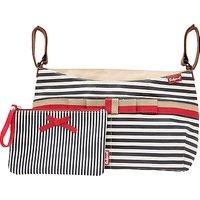 Babymel Caddy Striped Changing Bag, Navy