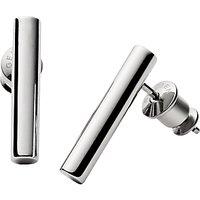 Skagen Amalie Linear Stud Earrings, Silver