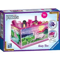Ravensburger Unicorn Vanity Box 3D Puzzle, 216 Pieces
