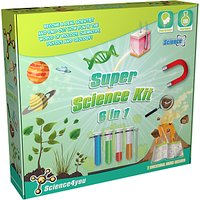Science4you 6 in 1 Super Science Kit