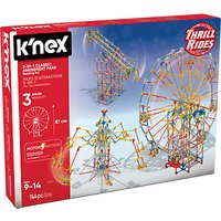 K'Nex Classic Amusement Park 3 In 1 Building Set