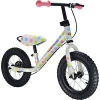 Kiddimoto Super Junior Max Pastel Dot Balance Bike