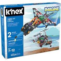 K'Nex Turbo Jet 2 In 1 Building Set