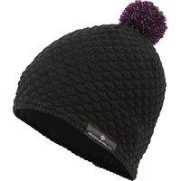 Ronhill Vizion Bobble Hat, One Size, Black