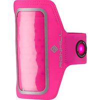 Ronhill Phone MP3 Armband, One Size, Fluorescent Pink