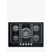 KitchenAid KHGD5 Integrated Gas Hob, Black / Inox