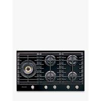 Kitchenaid KHGD5 Integrated Gas Hob, Black