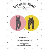 Tilly and the Buttons Marigold Jumpsuit and Trousers Sewing Pattern