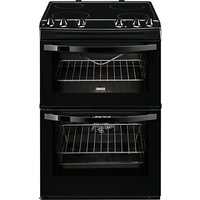 Zanussi ZCV68010BA Electric Cooker, Black