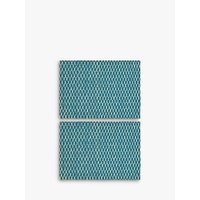 John Lewis & Partners Fusion Asian East Placemat, Set of 2, Teal