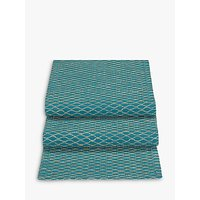 John Lewis Fusion Asian East Table Runner, Teal