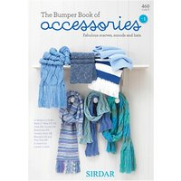 Sirdar Bumper Book of Accessories No 1 Knitting Pattern Booklet, 0460