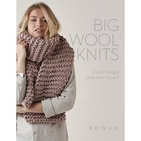 Rowan Big Wool Knits Knitting Pattern Brochure