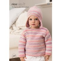 Rico Baby Dream A Luxury Touch DK Jumper and Hat Knitting Pattern, 516
