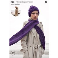 Rico Fashion Alpaca Dream Womens Jumper And Accessories Knitting Pattern, 492