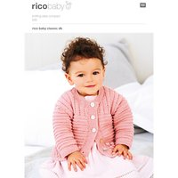 Rico Baby Classic DK Cardigan Knitting Pattern, 295