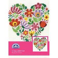 DMC Creative Bouquet of Love Cross Stitch Kit